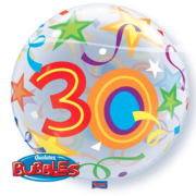 Bubble 30 jaar Party Balloon