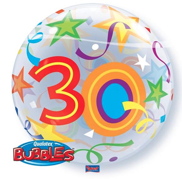 Bubble Ballon 30 Jaar Party Balloon