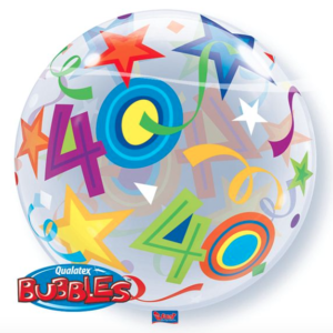 Bubble 40 jaar Party Balloon
