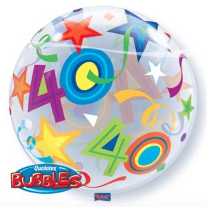 Bubble 40 jaar Party Balloon