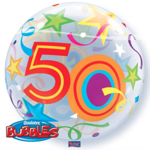 Bubble 50 jaar Party Balloon