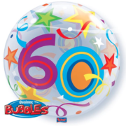 Bubble 60 jaar Party Balloon