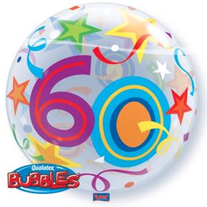 Bubble 60 jaar Party Balloon