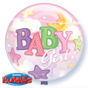 Bubble geboorte meisje baby girl