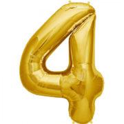 folie-cijfer-4-goud