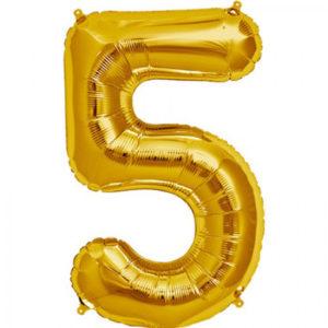 folie-cijfer-5-goud