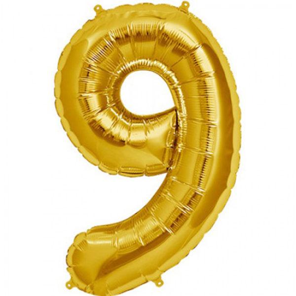 folie-cijfer-9-goud