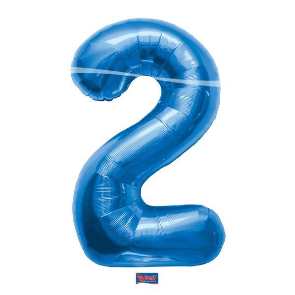 folieballon+cijfer+2+blauw+86cm