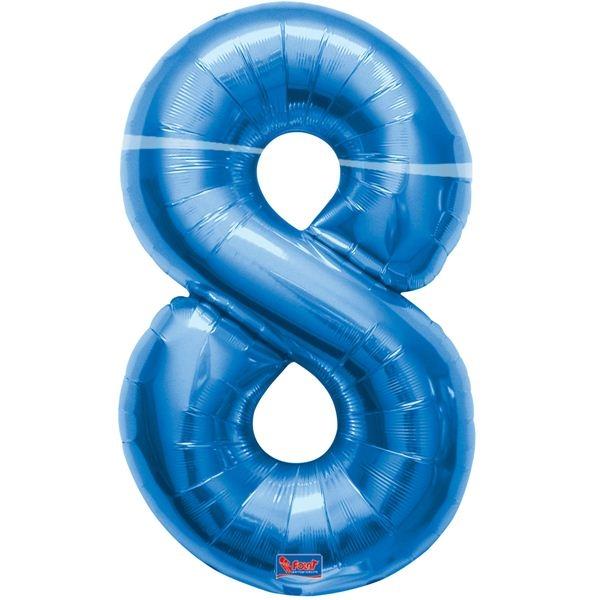 folieballon+cijfer+8+blauw+86cm