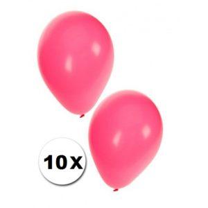 Ballonnen 10 stuks Pastel