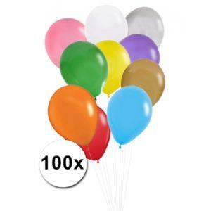 Ballonnen 100 stuks Pastel