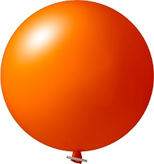 36 inch orange
