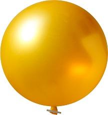 Reuze Ballonnen Metallic zonder opdruk