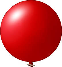 Reuze Ballonnen Pastel zonder opdruk