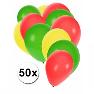Ballonnen 50 stuks Pastel