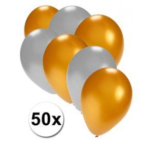 Ballonnen 50 stuks Metallic