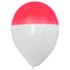 Ballondipper-roze-wit-