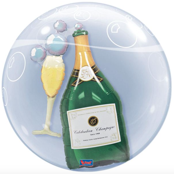 Double Bubble champagne