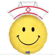 Folie ballon Smiley dokter