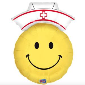 Folie ballon Smiley dokter