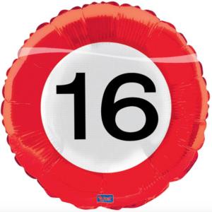Folie verkeersbord 16