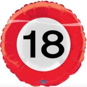 Folie verkeersbord 18