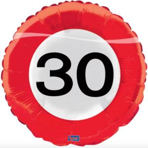 Folie verkeersbord 30