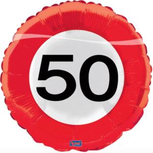 Folie verkeersbord 50