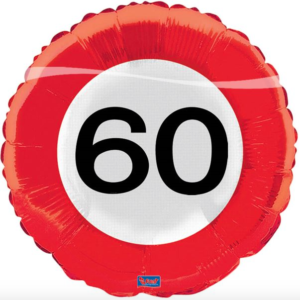 Folie verkeersbord 60