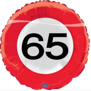 Folie verkeersbord 65