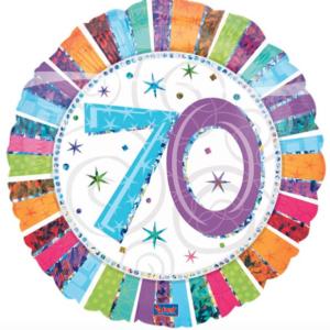 Folieballon 70 jaar