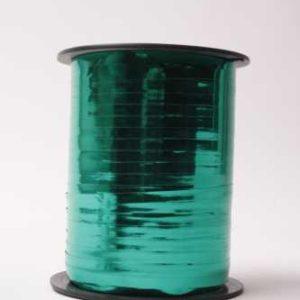 Krullint Metallic Groen 5mm