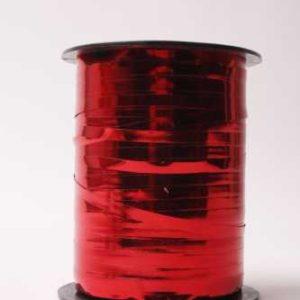 Krullint Metallic paars 5mm