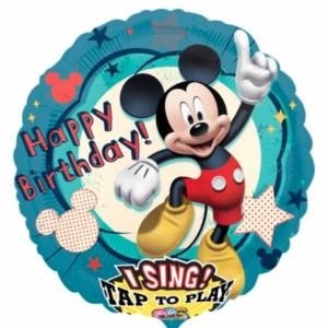 Muziekballon Mickey Mouse