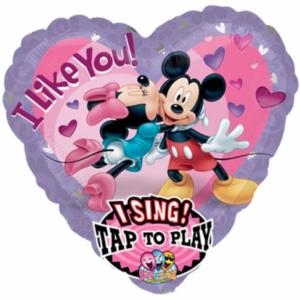Muziekballon Mickey en Minnie