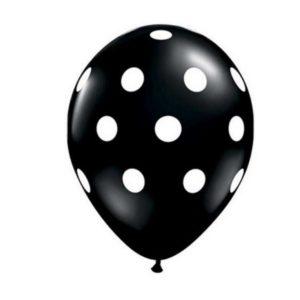 ballon_met_stippen_zwart_wit_1