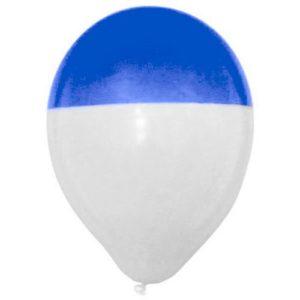 ballondipper-blauw-wit-