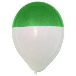 ballondipper-groen-wit-