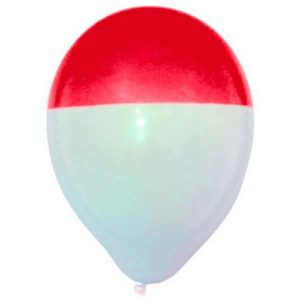 ballondipper-rood-wit--