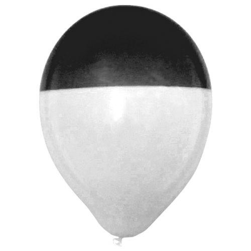 ballondipper-zwart-wit–