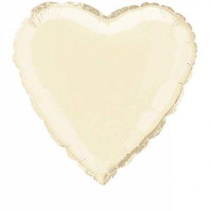 folieballon-hart-ivory-18inch