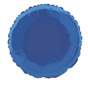 folieballon-rond-donkerblauw-18inch