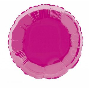 folieballon-rond-hot-pink-18inch