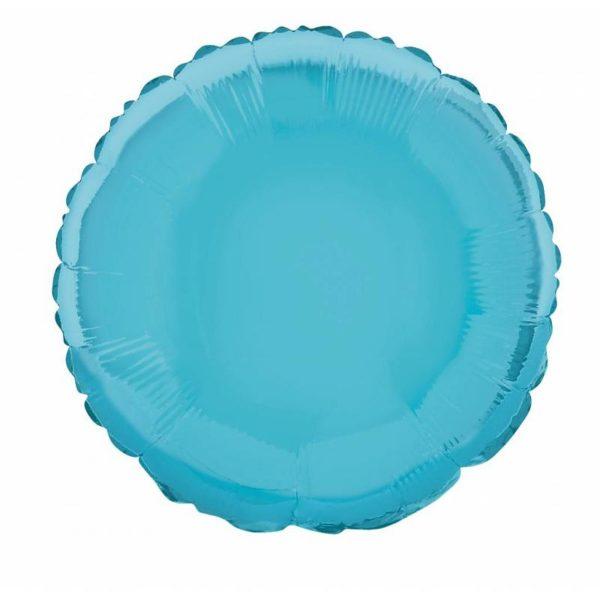 folieballon-rond-lichtblauw-18inch