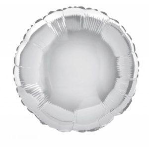 folieballon-rond-zilver-18inch