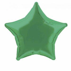 folieballon-ster-groen-20inch