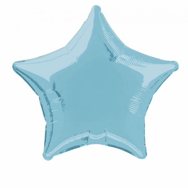folieballon-ster-lichtblauw-20inch
