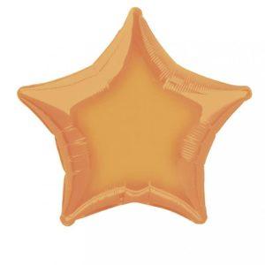 folieballon-ster-oranje-20inch