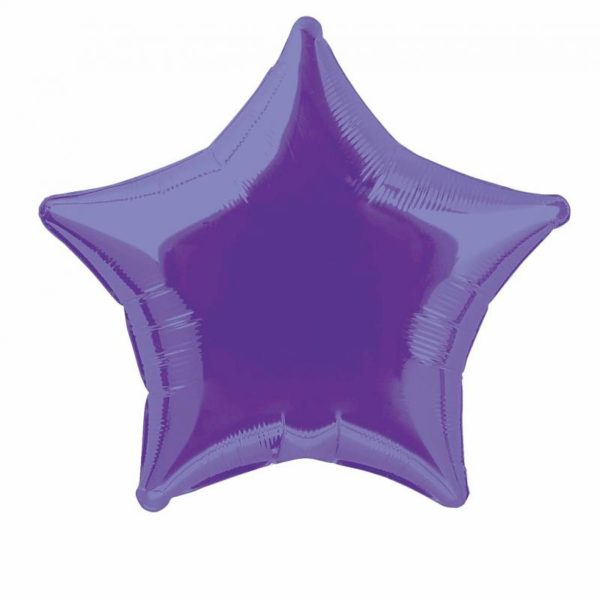 folieballon-ster-paars-20inch