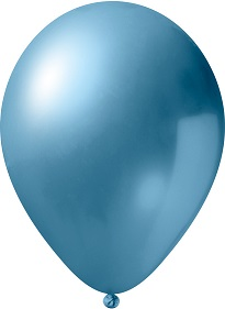 metallic licht blauw